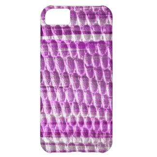 Purple stripes retro graphic design iPhone 5C case