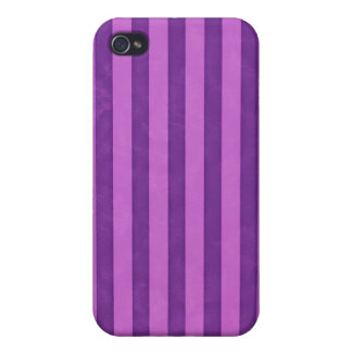 Purple strips ,  iPhone 4 cover