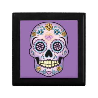 Purple Sugar Skull Gift Box
