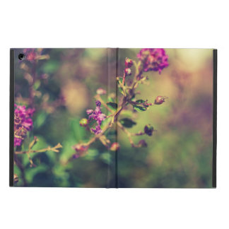 Purple summer nature iPad air cover