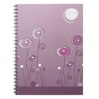 Purple Summer Notebook