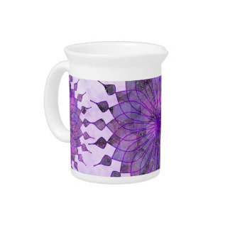 purple sun - home decor & set pitcher