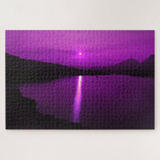 Purple Sunrise in GNP Puzzle