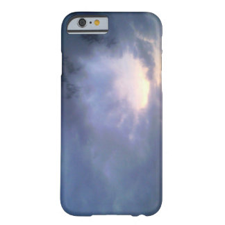 purple sunset barely there iPhone 6 case