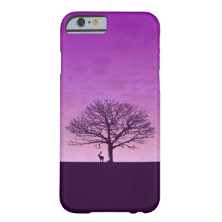 Purple Sunset Barely There Phone Case