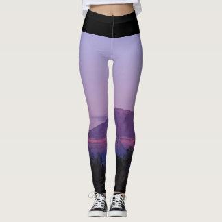 Purple Sunset Leggings