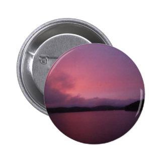 Purple sunset on Lake Arrowhead Button