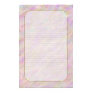 """Purple Sunset Sky"" Fine Lined Stationery"