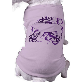 Purple Swirl English Bulldog Shirt