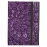 Purple Swirl Fractal Art Pattern