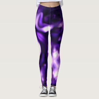 Purple Swirl Leggings