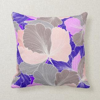 Purple Swirl Shell Decorative Pillow