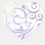 Purple Swirl Sticker/Seal