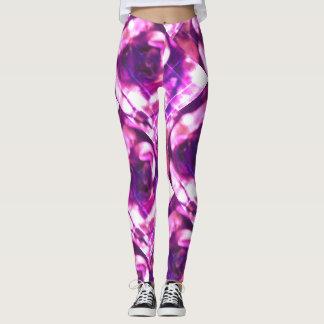 Purple Swirls Leggings