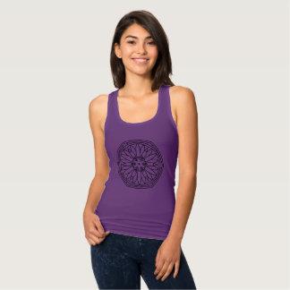 PURPLE t-shirt with Mandala