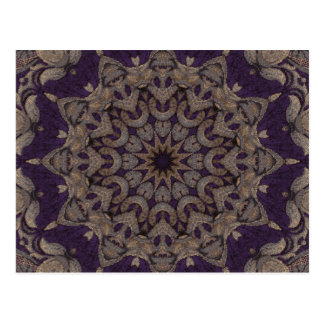 Purple Tapestry No5 Postcard