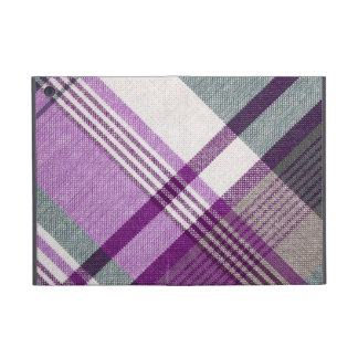 Purple Tartan Plaid Covers For iPad Mini