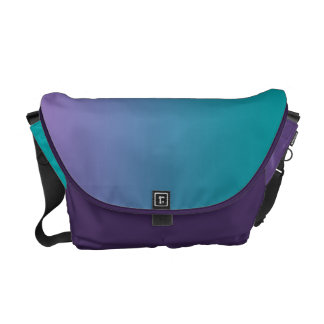 Purple & Teal Ombre Commuter Bags
