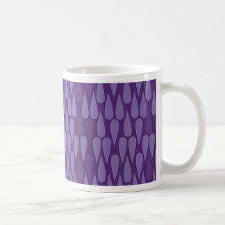 Purple Teardrop Mug