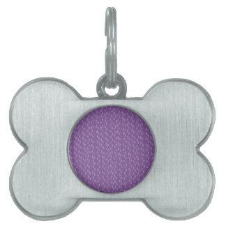 Purple Tears Pet Tag