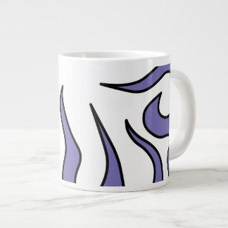 Purple Tentacle Blop Large Coffee Mug