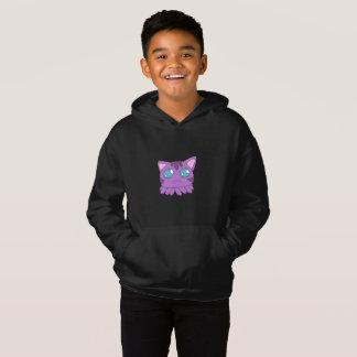 Purple Tentacle Cat Hoodie