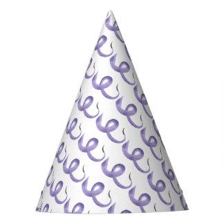 Purple Tentacle Party Hat