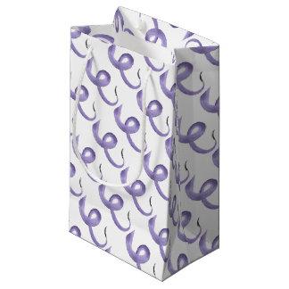 Purple Tentacle Small Gift Bag