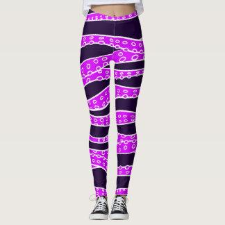 Purple Tentacles Leggings