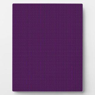 Purple texture display plaques