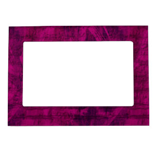 Purple Texture Magnetic Frame