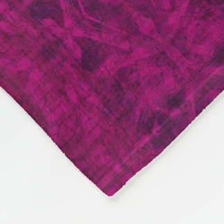 Purple Texture Pattern Fleece Blanket