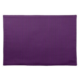 Purple texture placemat