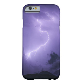 Purple Thunderstorm at Night Barely There iPhone 6 Case