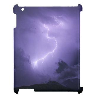 Purple Thunderstorm at Night iPad Cover