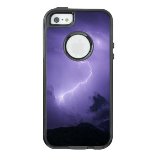 Purple Thunderstorm at Night OtterBox iPhone 5/5s/SE Case