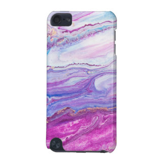 Purple Tide Abstract fluid Painting iPod Touch (5th Generation) Covers