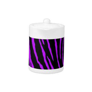 Purple Tiger Stripes