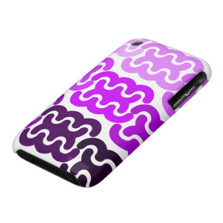 "Purple ""Tire Tracks"" iPhone 3/3GS Case iPhone 3 Covers"