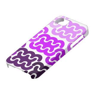 "Purple ""Tire Tracks"" iPhone 5 Case"
