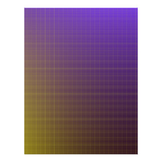 Purple to Gold Pattern Background Flyers