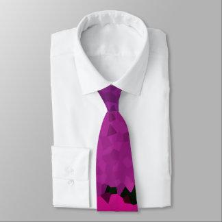 Purple to Pink Pixel Striped Tie