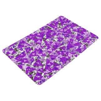 Purple Triangle Floor Mat