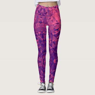 Purple Triangle Legging