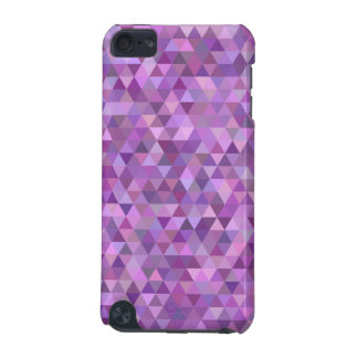 Purple triangles iPod touch 5G cover