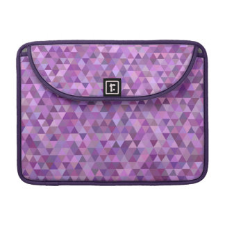 Purple triangles sleeve for MacBook pro