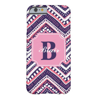 Purple Tribal Chevron Barely There iPhone 6 Case