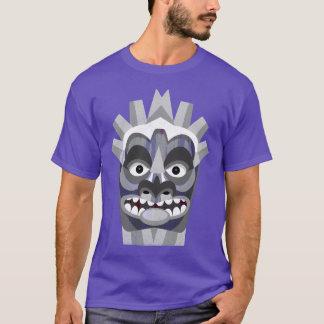 Purple Tribal Tiki Beachcomber T-Shirt