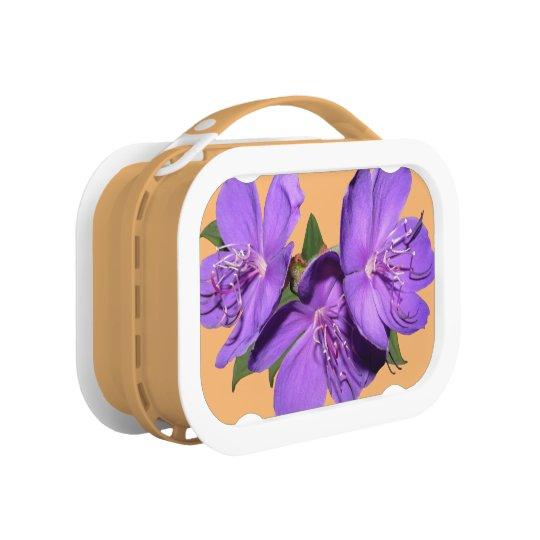 Purple Tropical Flower lunchbox