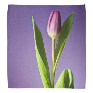 Purple tulip bandana